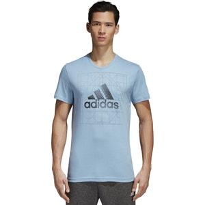 T-shirt de gola redonda com motivo ADIDAS PERFORMANCE