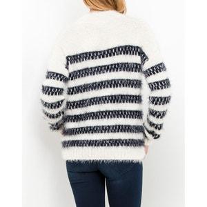 Sweter ze stójką z dzianiny o grubym splocie LEE