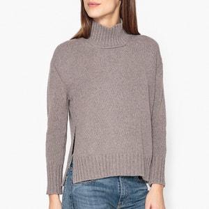 Пуловер с воротником-стойкой POMANDERE