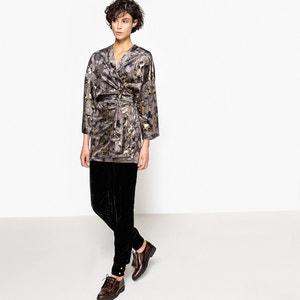 Kimono-Jacke aus Samt La Redoute Collections