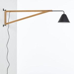 Applique forme potence, frêne et métal, Cotapi La Redoute Interieurs