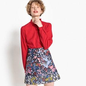 Short Floral Jacquard Skirt MADEMOISELLE R