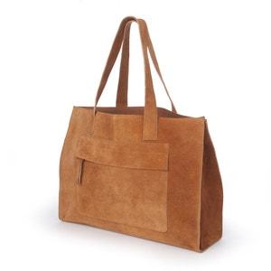 Suede Handbag atelier R