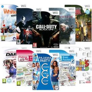 Pack 10 jeux puzzle - Wii NONAME