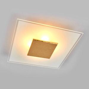 Plafonnier LED de qualité Lole abat-jour en verre LAMPENWELT