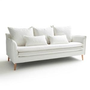 Canapé fixe 3 ou 4 places, coton-lin, Oceano La Redoute Interieurs