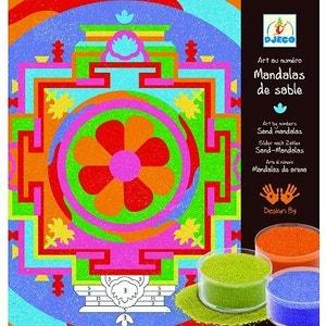 Mandalas de Sable Tibétains DJECO