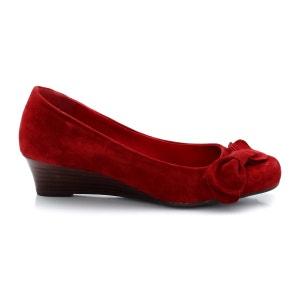 Sapatos em pele aveludada ANNE WEYBURN