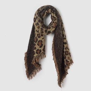 Sjaal met luipaard motief R studio