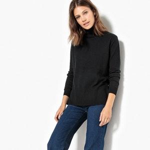 Cotton & Cashmere Turtleneck Jumper/Sweater La Redoute Collections