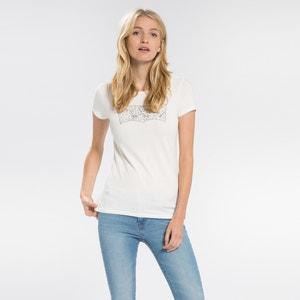 T-shirt de gola redonda, motivo à frente LEVI'S