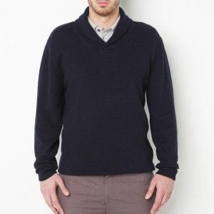 Pullover mit Schalkragen, reine Baumwolle TAILLISSIME