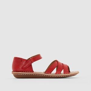 Sandálias em pele com presilha CLARKS