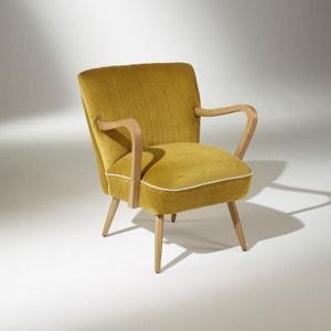 Fauteuil vintage jaune | La Redoute