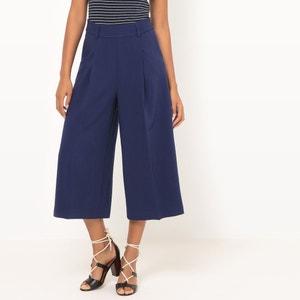 Falda pantalón, talle alto atelier R