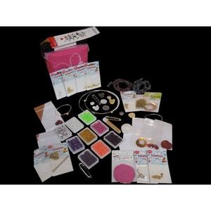 Pochette création bijoux, 1100 perles Swarovski, toupies, nacres et fermoirs - Perles Box PERLES BOX