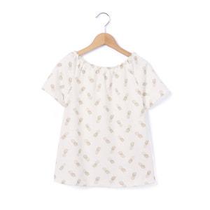 Pineapple Print T-Shirt, 3-12 Years R essentiel