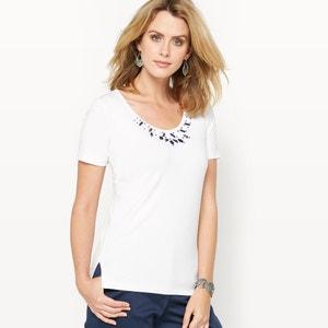 Camiseta con bisutería ANNE WEYBURN