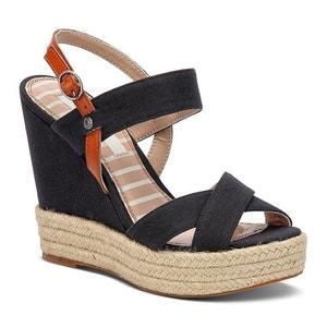 Sandalen met sleehak Walker PEPE JEANS