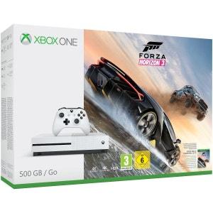 Xbox One S 500GB + Forza Horizon 3 XBOX One MICROSOFT