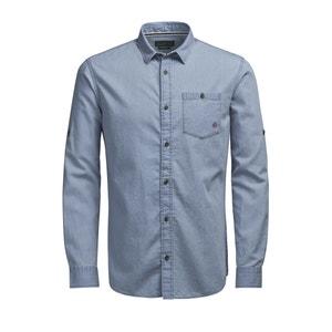 Printed Long-Sleeved Shirt JACK & JONES