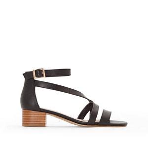 Heeled Leather Sandals ANNE WEYBURN