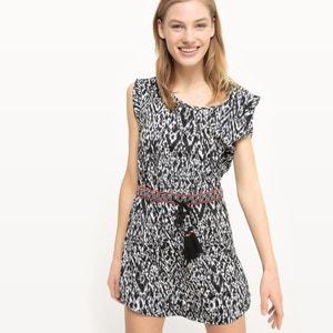Short Sleeveless Ethnic Print Dress KAPORAL 5