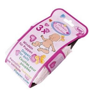 BAYER DESIGN Le lot de 3 couches accessoires pour poupée BAYER DESIGN