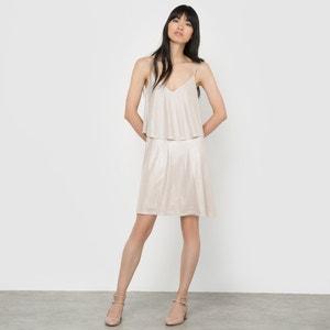 Iridescent Strappy Dress VILA
