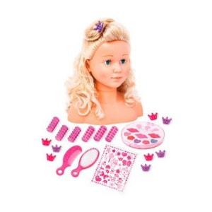 BAYER DESIGN La tête à coiffer et à maquiller Super Model avec maquillage poupée à maquiller BAYER DESIGN