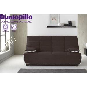 Banquette-lit Clic Clac Emylia - Matelas Dunlopillo HR35kg - Grand couchage RELAXIMA