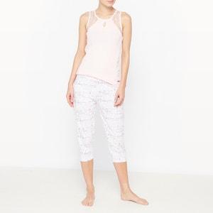 Pijama con pantalón pesquero de algodón Poème DODO