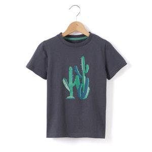 T-shirt com motivo cato, 3-12 anos abcd'R