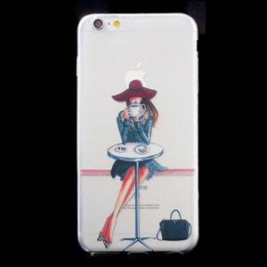 Coque souple La Parisienne en Terrasse pour iPhone 6/6S AMAHOUSSE