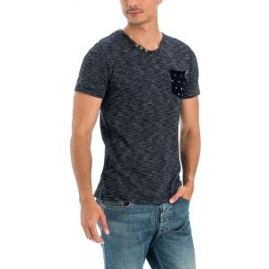 T-shirt uni avec poche imprimée SALSA
