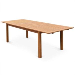 Table de jardin la redoute - Table exterieure bois ...