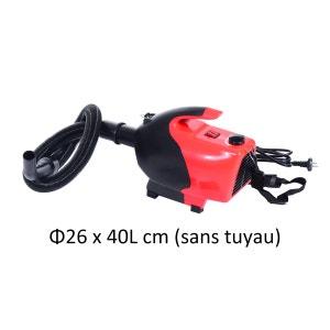 Séchoir sèche-poils toilettage professionnel pour chiens 2600 W rouge - HOMCOM HOMCOM