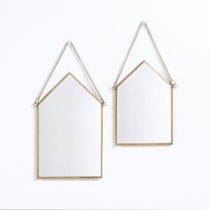 Lot de 2 miroirs maison(lot de 2), Uyova La Redoute Interieurs