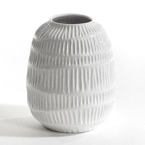 Belzemine Raised Stripe Vase by E. Gallina AM.PM.