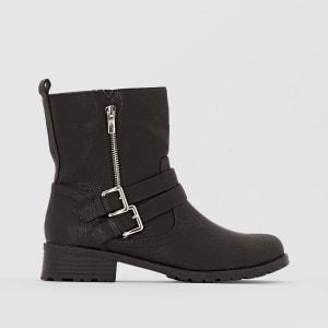 Boots synthétique pied large 38-45 CASTALUNA
