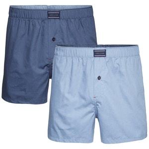 2er-Pack Boxer-Shorts aus Popeline TOMMY HILFIGER