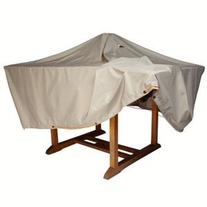 Housse imperméable table de jardin larg. 170 cm LES PETITS PRIX