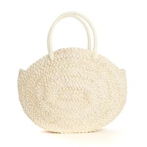 Round Straw Handbag La Redoute Collections
