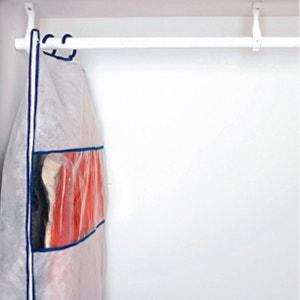 Capa de arrumação sob vácuo, lote de 2 + 1 capa em tecido La Redoute Interieurs
