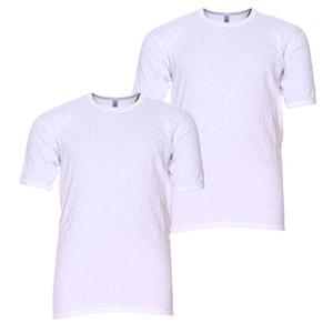 Pack de 2 t-shirt 'Adamo' blanc ADAMO