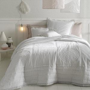 Couvre-lit matelassé et brodé en coton, OYENA La Redoute Interieurs