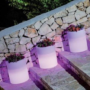 Pot lumineux VENUSIO LED RGB avec batterie MONACIS