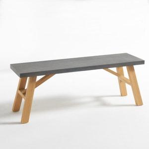 Concrite Concrete-Effect Bench La Redoute Interieurs