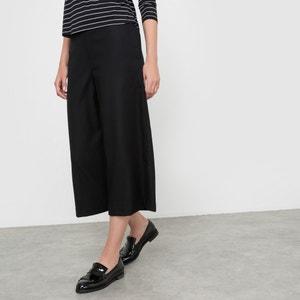 Jupe culotte effet flanelle R essentiel