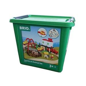 Brio 33135103 Grand circuit fermier avec silos BRIO